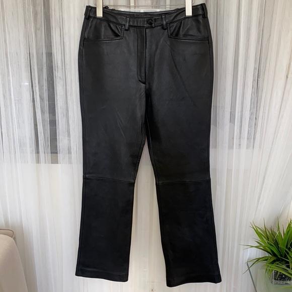 Garson leather pants